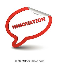 red vector element bubble innovation - This is red vector...