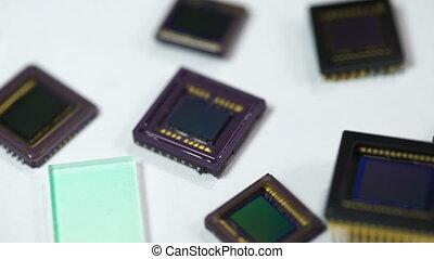 Digital camera sensors  - Digital camera sensors. Macro shot