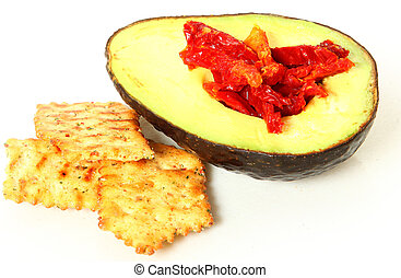 Avacado and Tomato Snack - Avocado and Tomato Snack