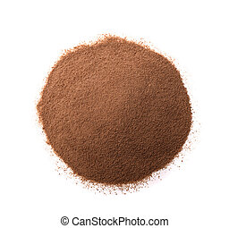 Coffee substitute - Pile of instant coffee substitute...