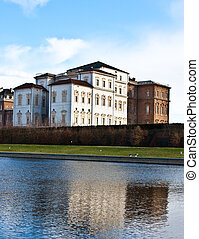 Royal palace - Venaria Reale (Italy) royal palace, view from...