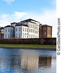 Royal palace - Venaria Reale (Italy) royal palace, view from...