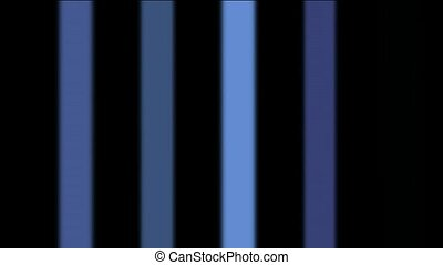 blue vertical rectangle background