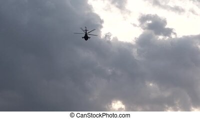 The Helicopter in the Sky HD