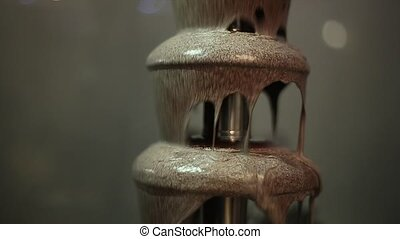 Milk Chocolate Fountain, The Upper Part Structure - milk...