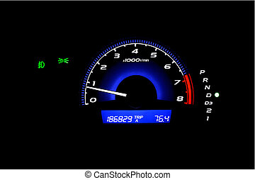 Mileage - Automotive car