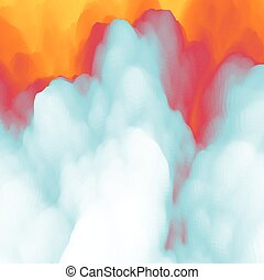 Lava Abstract background Modern pattern