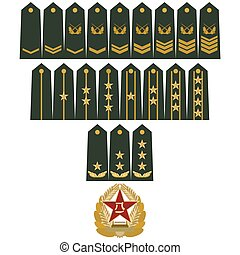 Insignia Army of China