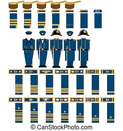 Insignia Navy officers of the Confe - Insignia Confederate...