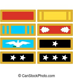 The insignia of the US Army during the American Civil War....