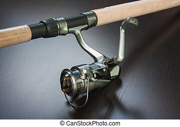 Fishing Tackle - spinning and reel for fishing
