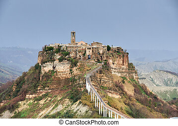 Civita di Bagnoregio, it is a small town in the Province of...
