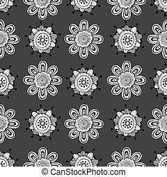 Schwedische traditionelle muster  Vektor Clipart von schwedische , kunst, muster, -, traditionelle ...