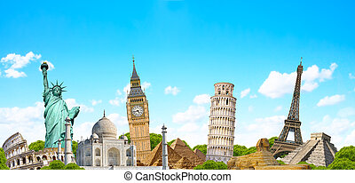 Famous monument of the world - Famous monuments of the world...