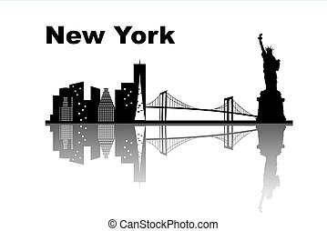 New york skyline - great for your design