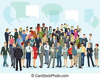 Personen und Meinungen.eps - ask an employee and think
