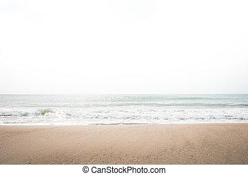 summer on the beach