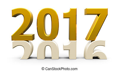 2016-2017 gold - 2016-2017 change represents the new year...