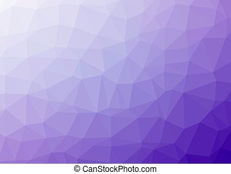 Triangular pattern - Low poly background Polygonal or...