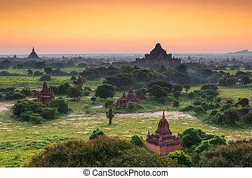 Bagan Myanmar Pagodas