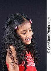 Shy Indian Girl