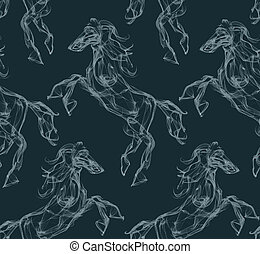 Air horse pattern - Air horse Smoke texture pattern Dream...