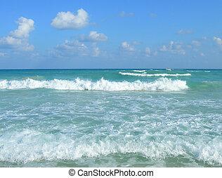 Caribbean beach Cancun