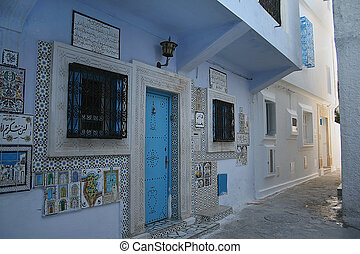 Street of Hammamet, Tunisia
