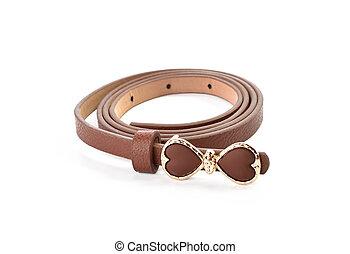 girdle belts isolated on white background