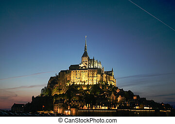 Mont St Michel, France