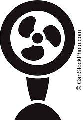 Fan Ventilator Vector icon isolated
