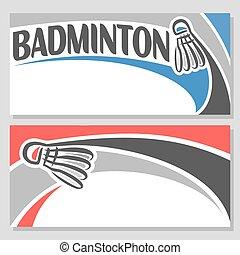 Theme of badminton