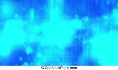 Blue looping abstract X23 Backdrop - Lopping animated blue...