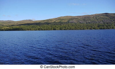 Loch Katrine, Scottish Highlands - Serene landscape near...