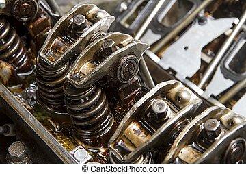 mechanicals of a car