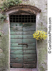 Door in Tuscany, Italy