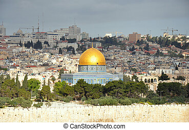 Dome of the Rock Mosque Temple Mount, Jerusalem Old City