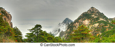mount huangshan west steps china asia