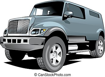 big 4x4 car design