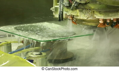 production and processing of glass cutting and grinding...