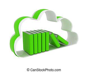 Cloud technology database concept