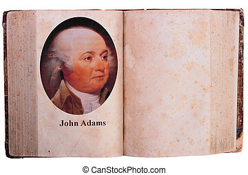 John Adams - The second president of United States of...