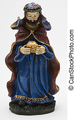 Gaspar the wise king - vintage figure of the christmas...