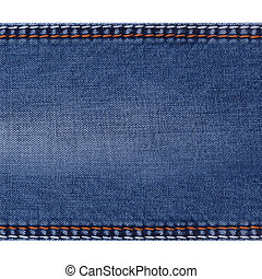 eans background with folds - Blue jeans background with...