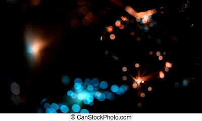 light abstract, magical glow, motion, fantastic background...