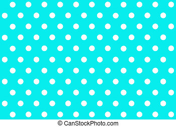 Polka dot background - Blue polka dot background