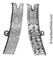 Scabbard scimitar Zolkiewski great general, preserves the...