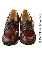 pasado de moda, zapatos, hembra