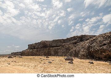 Bonaire caribbean island landscapes