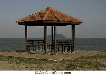 praia, Pavilion.,